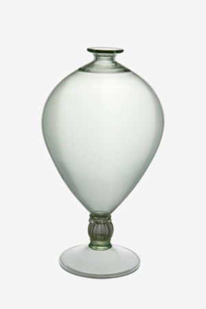 Veronese vase green color