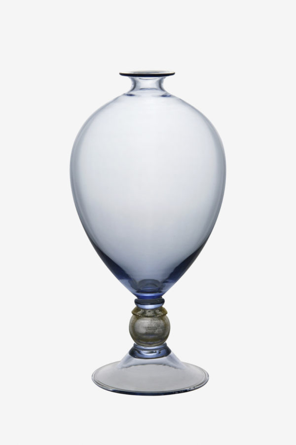 Veronese vase blue color