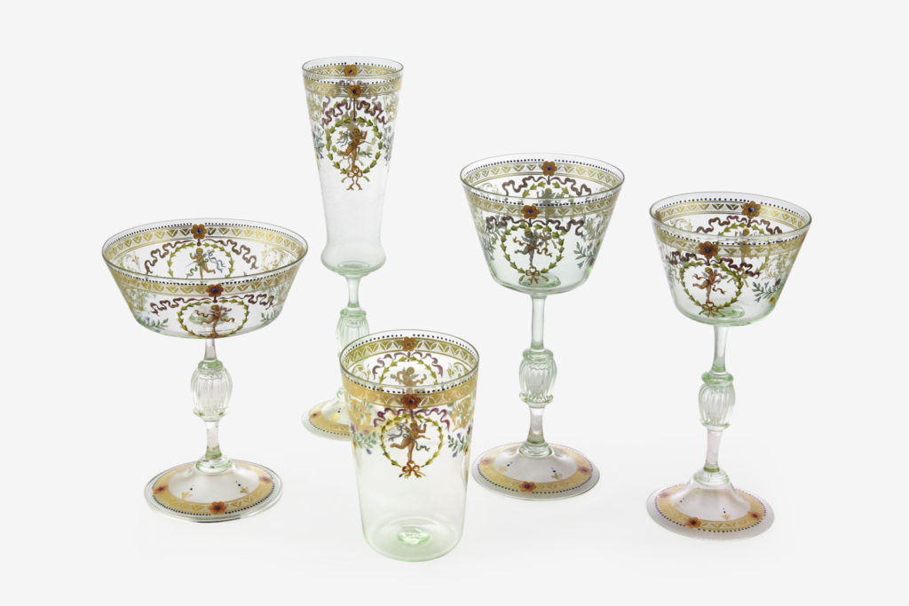 Tableware classic glass collection