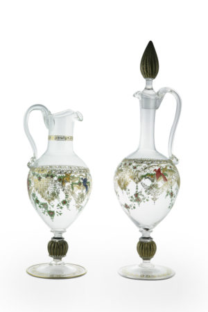 """Bird with flowers"" collection pitcher"