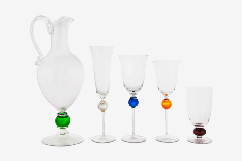 Tableware modern glass collection