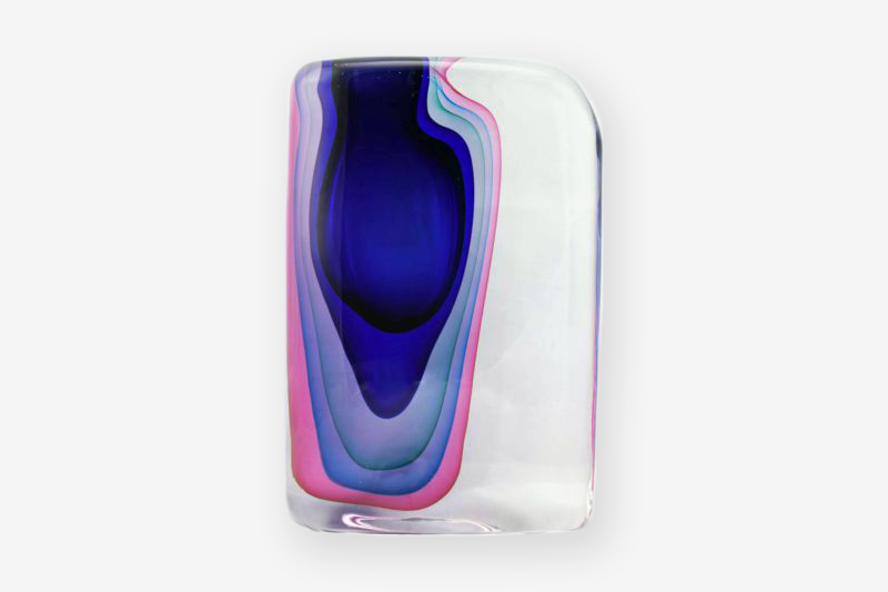 Vase modern glass collection