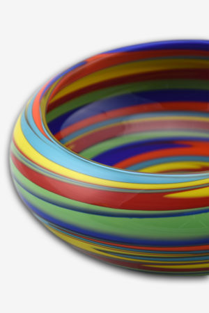 Multicolor bowl detail