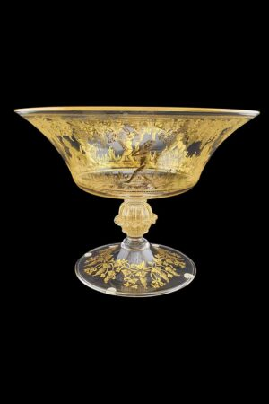 "Decorated bowl ""Putti"""