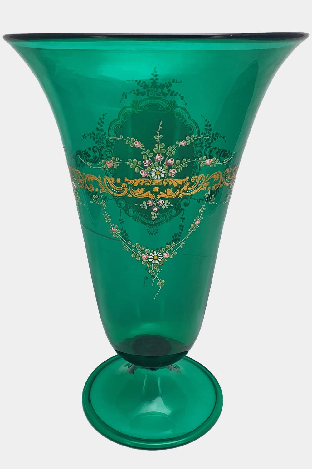 Green Vase Doges Palace Decorated (3)